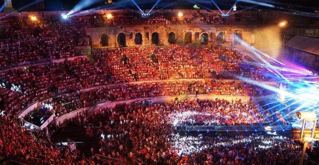 Les chroniques de Myrtille : concert aux arènes de Nîmes